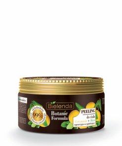 Crema exfolianta corp cu extract de Lamaie + Menta Botanic Formula, 350 g