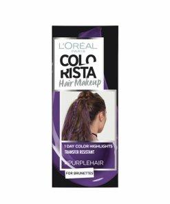 Gel colorant pentru par L'Oreal Paris Colorista Hair Makeup, Purple, 30 ml