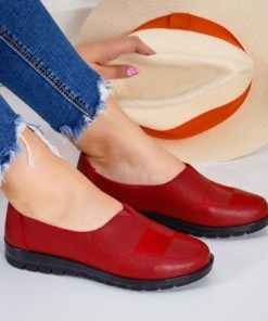 Pantofi dama casual rosii Oline