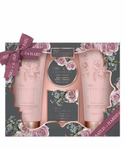Set cadou Boudoire Midnight Rose Petals: Gel de dus, 200ml Lotiune de corp si maini, 200ml Sapun, 150g + Unt de corp, 50ml