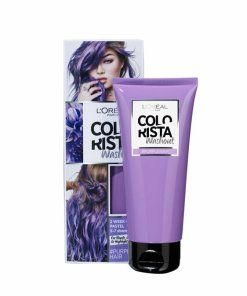 Vopsea temporara pentru par L'Oreal Paris Colorista Washout, Purple, 80 ml