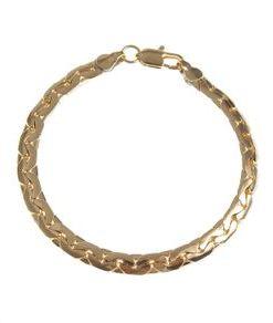 Bratara placata aur, design maleabil