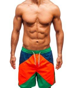 Pantaloni scurți de baie multicolor bărbați Bolf 343A