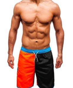 Pantaloni scurți de baie bărbați multicolor Bolf 353C