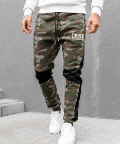 Pantaloni de trening camuflaj-albi Bolf 3782