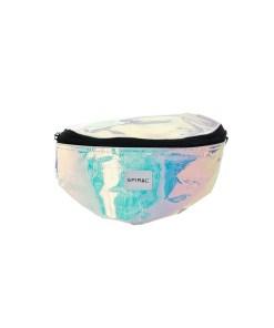 SPIRAL Borseta 'BUM BAG 1'  roz / alb