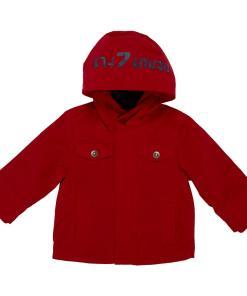 Jacheta impermeabila copii Chicco, baieti, rosu, 104