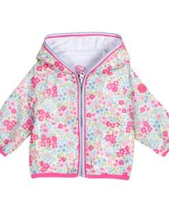 Jacheta copii Chicco, roz cu trandafir, 87379