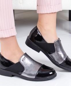 Pantofi Lachimo argintii casual -rl