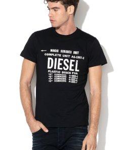 Tricou cu imprimeu text Diego
