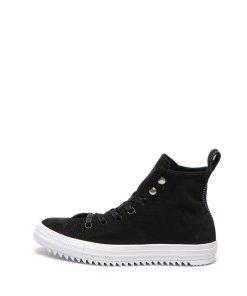 Pantofi sport inalti de piele intoarsa Chuck Taylor All Star