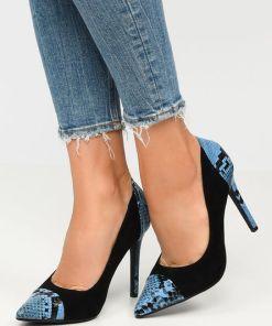 Pantofi stiletto Beauty Albastri