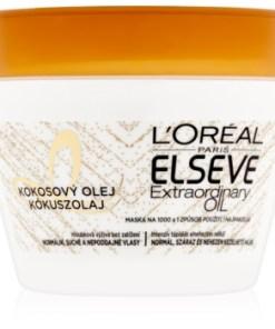 L'Oreal Paris Elseve Extraordinary Oil Coconut masca nutritiva cu ulei de cocos, pentru par normal spre uscat
