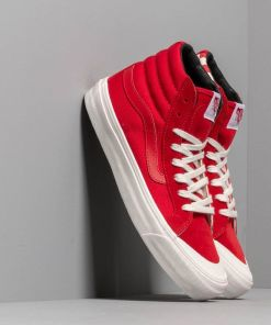 Vans OG Style 138 LX (Suede/ Canvas) Racing Red