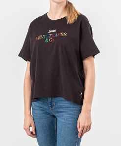 Levi's® Graphic Varsity Tee Black
