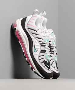 Nike W Air Max 98 Pure Platinum/ Aurora Green-Black