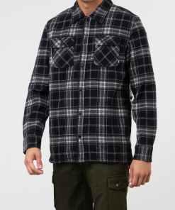 Vans Tradewinds Shirt Black/ Grey