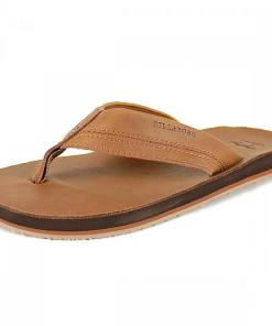 Sandale All Day Leather Sandals cognac