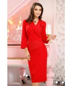 Rochie Zasha Red