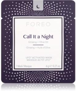 FOREO UFO™ Call It a Night mască de noapte pentru revitalizarea și reînnoirea pielii cu efect de nutritiv