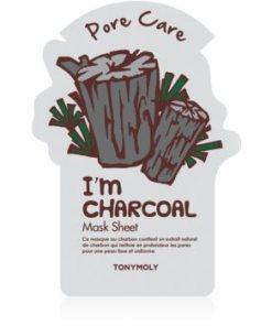 TONYMOLY I'm CHARCOAL masca pentru celule pentru netezirea pielii si inchiderea porilor
