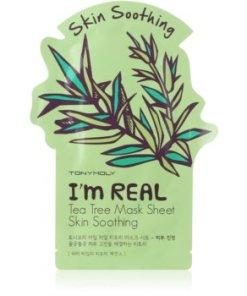 TONYMOLY I'm REAL Tea Tree mască textilă calmantă