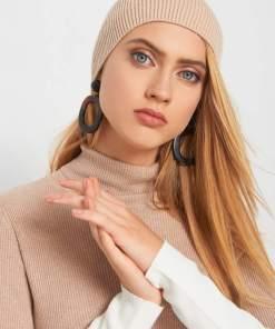 Căciulă beanie de tricot