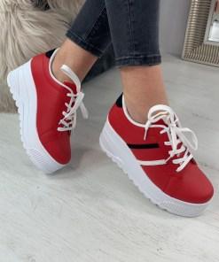 Adidasi Omari Rosii #B3855