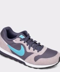 Pantofi sport NIKE gri, CI2232, din material textil si piele naturala