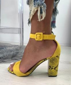 Sandale Danna Galbene #B4890