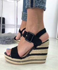 Sandale Jaiada Negre #B4525