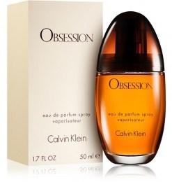 Apa de Parfum Calvin Klein Obsession, femei, 50ml