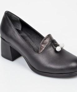 Pantofi FLAVIA PASSINI negri, NM63, din piele naturala