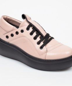 Pantofi FLAVIA PASSINI roz, 285600, din piele naturala