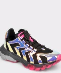 Pantofi sport GRYXX negri, T12, din piele ecologica