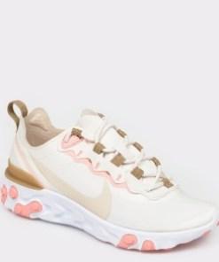 Pantofi sport NIKE, React Element 55 bej, din material textil
