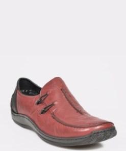 Pantofi RIEKER visinii, L1751, din piele naturala