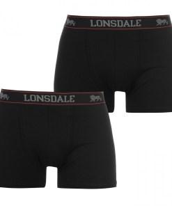 Boxeri - Lonsdale 2 Pack Trunks Mens 25278