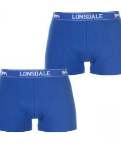 Boxeri Lonsdale 2 Pack Trunks Mens