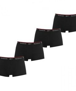 Boxeri - Reebok 4 Pack Trunks Mens 1072175