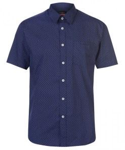 Camasa cu maneca scurta Pierre Cardin Short Sleeve Shirt Mens