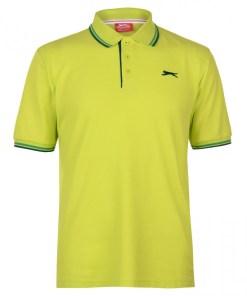 Tricou golf Slazenger Tipped Polo Shirt Mens