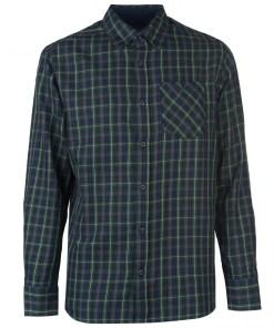 Camasa in carouri Pierre Cardin Tartan Check Long Sleeve Shirt Mens