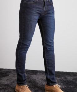 Blugi slim fit Trendyol Indigo Men's Slim Fit Jeans