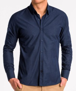 Camasa business Ombre Clothing Men's elegant shirt with long sleeves K468