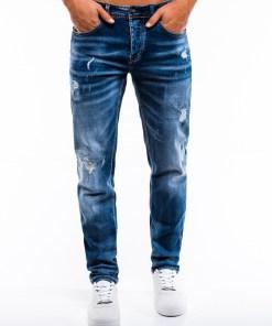 Blugi slim fit Ombre Clothing Men's jeans P856