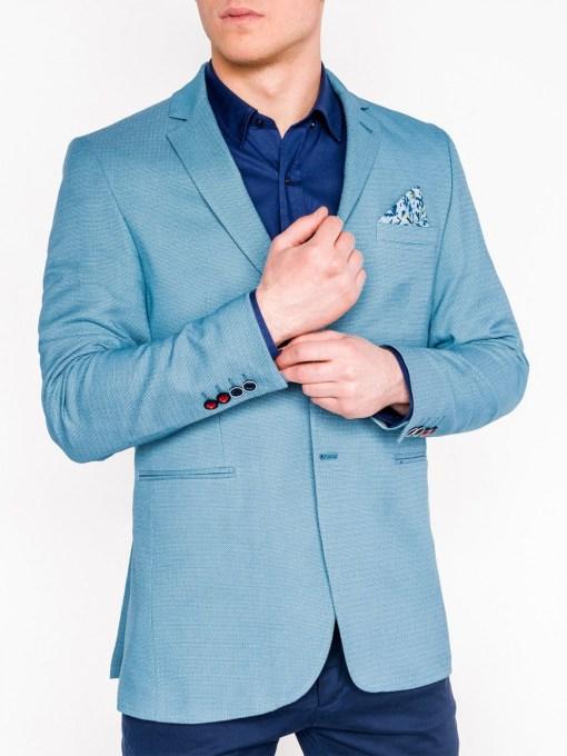 Sacou Ombre Clothing Men's elegant blazer jacket M102