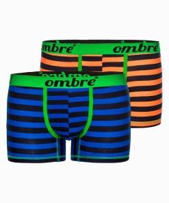 Boxeri - Ombre Clothing Men's underpants U37 - blue/orange 2 928937