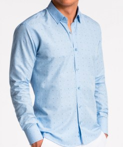 Camasa business Ombre Clothing Men's elegant shirt with long sleeves K465