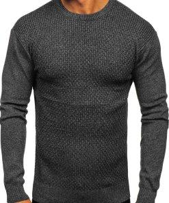 Pulover barbati negru Bolf 8512